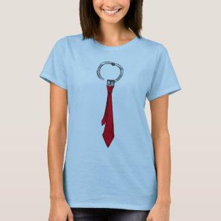 Women's Neck Tie T-shirt
