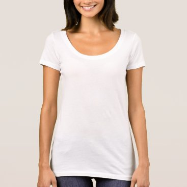 Beach Themed Women's Next Level Scoop Neck T-Shirt