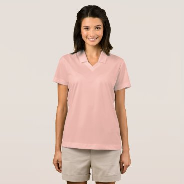 Beach Themed Women's Nike Dri-FIT Pique Polo Shirt