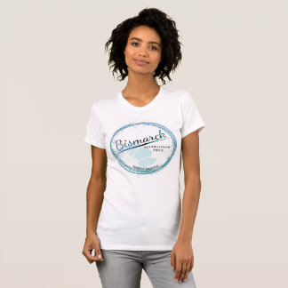 Womens North Dakota T-Shirt Bismarck