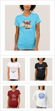 WOMEN'S NURSE T-SHIRTS
