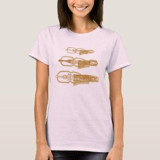 Women's Nyckelharpa T-Shirt Wordless Version