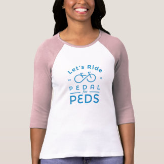 Women's Official 2016 Pedal For Peds T-Shirt