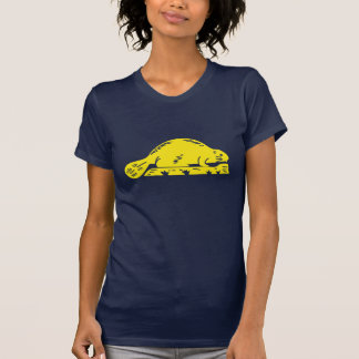 Women's Oregon state flag beaver T T-Shirt