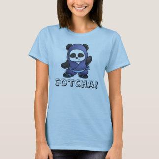 Womens Panda Gotcha! Shirt