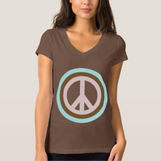 Women's Peace Sign T-shirt