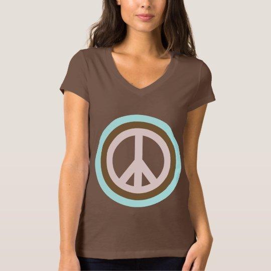 Women's Peace Sign T-shirt