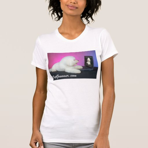 Women's PetGroomer.com Website Logo T-shirt