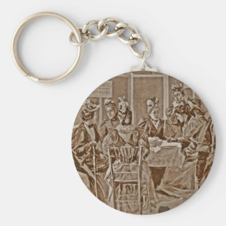 Women's Petition for Equal Suffrage Basic Round Button Keychain