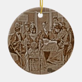 Women's Petition for Equal Suffrage Ceramic Ornament