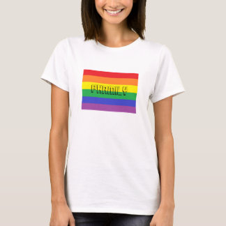 Women's, Phamily over Rainbow Pride Flag T-Shirt