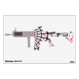 women's Pink AR-15-infowars.com Wall Sticker
