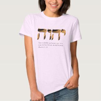Women's pink tee, Glorifies Yahweh Proverbs 31:30 T-Shirt