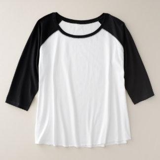 Women's Plus-Size 3/4 Sleeve Raglan 3 color choice Plus Size Raglan T-Shirt