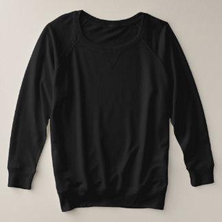 Women's Plus-Size French Terry Long 4 color choice Plus Size Sweatshirt