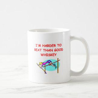 women's pole vaulting coffee mug