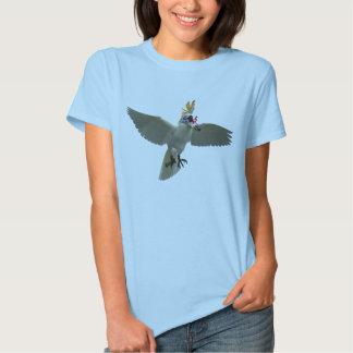 Women's PolyFi T Shirt Large Logo