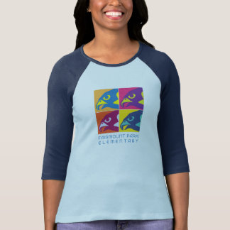 Women's Pop Art Raglan Tshirts