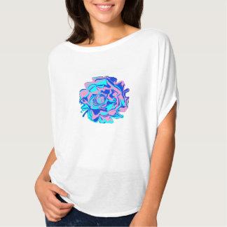 Womens' Psychedelic Flower Bella Flowy Top T-shirt