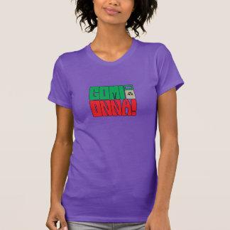 Women's Purple Gomi Onna! Logo Tee