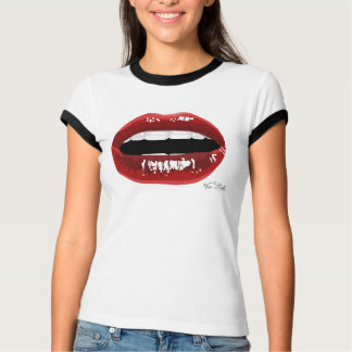 """Women's """"Red Lips"""" T T-Shirt"""