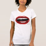 "Women's ""Red Lips"" T Tshirts"