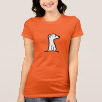 Womens Red MeerKat Official T-Shirt