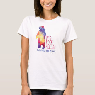 Womens Red Rock Relish White T-Shirt