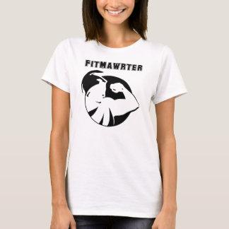 Women's Reg T-shirt with Design in Black