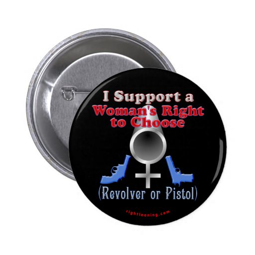Women's Right to Choose Pinback Buttons