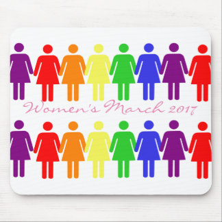 women's rights 2017 LGBTQIA Mouse Pad