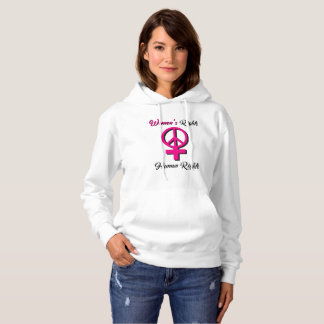 Women's Rights are Human Rights Hoodie