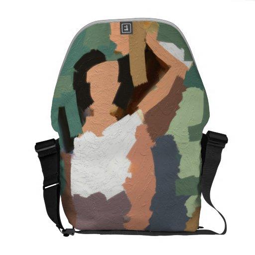 Women's rights bag messenger bags