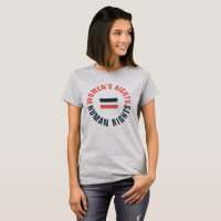 Women's Rights Equal Human Rights Feminist T-Shirt