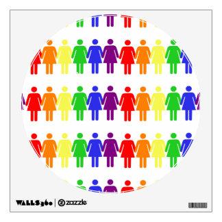 women's rights LGBTQIA Thunder_Cove Wall Sticker