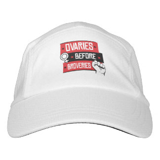 Women's Rights - Ovaries Before Brovaries - Headsweats Hat
