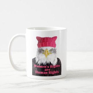 Women's Rights Pussy Hat Eagle Mug