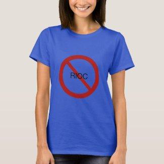 Women's RIOC Must Go Blue T-Shirt