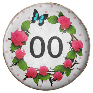 Womens Rose 91st 92nd 95th 97th 98th 99th Birthday Chocolate Dipped Oreo