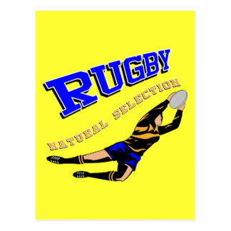 Women's Rugby #2 BY Postcard