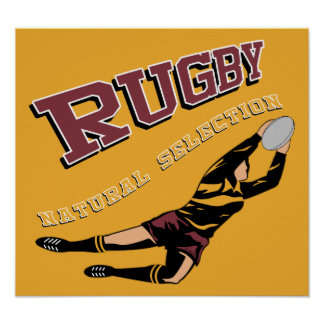 Women's Rugby #2 RY Poster