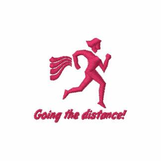 "Womens Running ""Going the distance!"" Hoodies"