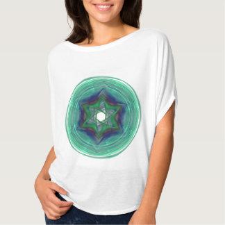 Women's sacred Bella+Canvas Flowy Circle Top