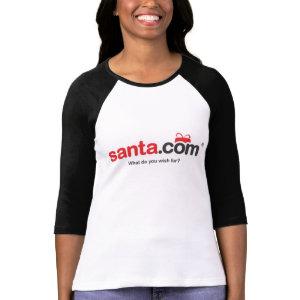 Santa Baseball Tee