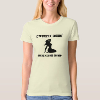 Women's 'SC Country Cookin'' T-Shirt, Natural T-Shirt