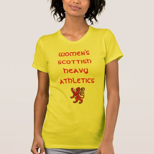 Women's Scottish Heavy Athletics T-Shirt