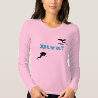 Womens Scuba Diver T-Shirt