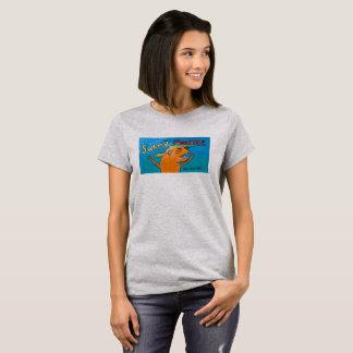 Women's shirt 'SWAMP MONSTER'