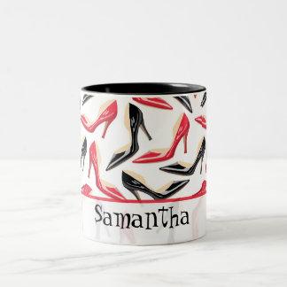 Womens Shoes High Coffee Mug Cup