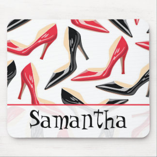 Womens Shoes High Heels Personalized Mousepad